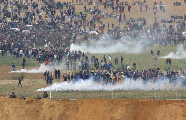 مركزان حقوقيان: الاحتلال يمنع إنقاذ جرحى وانتشال شهداء بالمنطقة العازلة شرق غزة