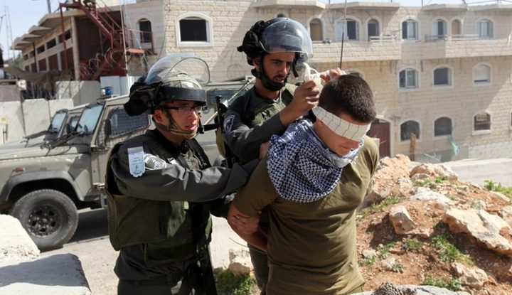 الاحتلال يعتقل شابا من نحالين غرب بيت لحم