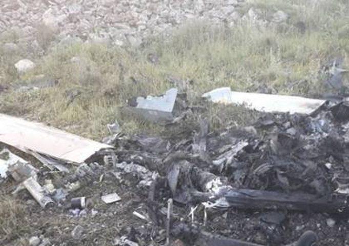 تحطّم طائرة تجسس للاحتلال جنوب لبنان