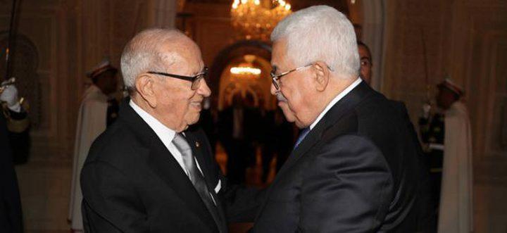 الرئيس التونسي يؤكّد دعم تونس الثابت للقضية الفلسطينية