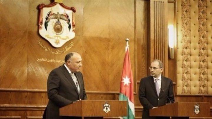 مصر والأردن: حل القضية الفلسطينية سيغير خريطة المنطقة بشكل جوهري