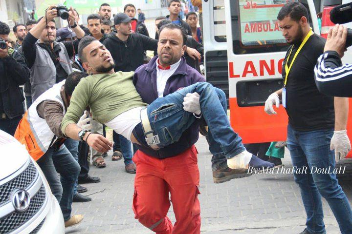 (17) شهيدًا في مسيرة العودة الكبرى بغزة وأعداد الشهداء بشأن القدس وصل (57) شهيدًا