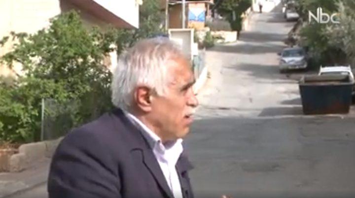 بسام أبو عيشة يتحدث عن ذكرى يوم الأرض في منطقة تل الرميدة (فيديو)