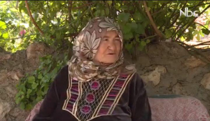(بالفيديو) أم أمجد عينبوسي تتحدث عن جمال الطبيعة في خربة يرزا