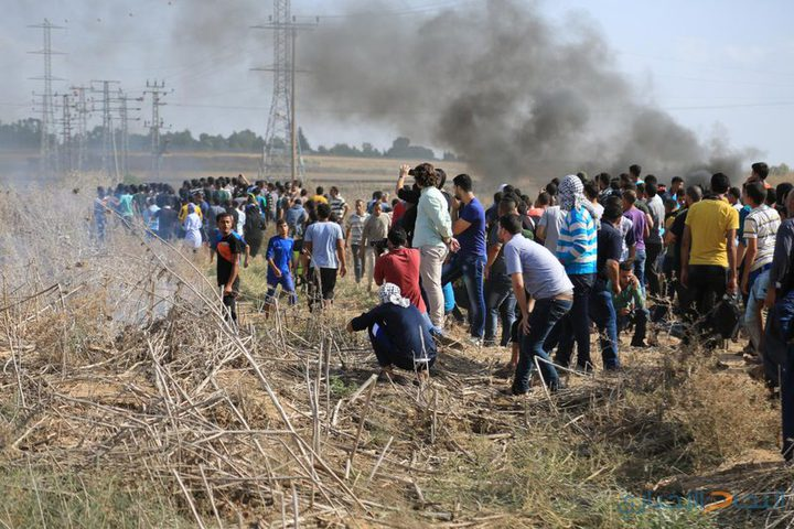 غزة: إصابة 3 شبان بالرصاص الحي وآخرين بالاختناق خلال مواجهات
