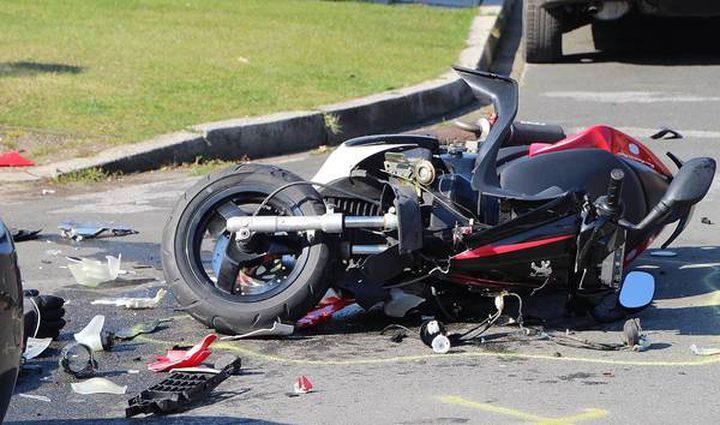 إصابة طالبة بجروح جراء دهسها بواسطة دراجة غير قانونية