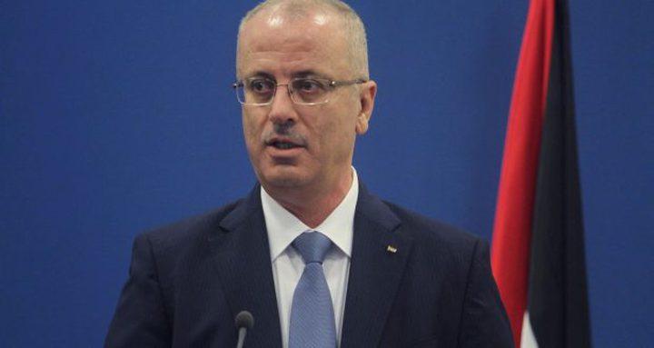 رئيس الوزراء: مطلوب إجماع دولي للجم انتهاكات الاحتلال
