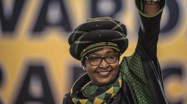 وفاة ويني مانديلا الزوجة السابقة للراحل نيلسون مانديلا