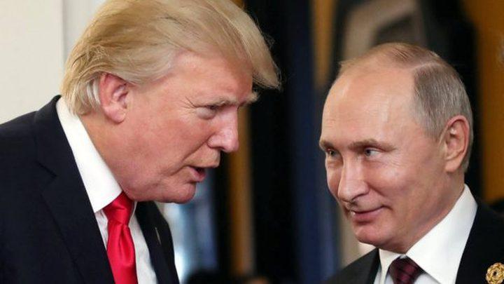 ترامب يعرض على بوتين عقد لقاء في البيت الأبيض