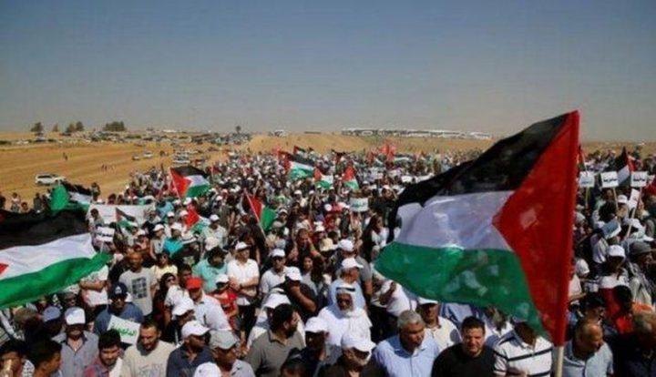 لليوم الرابع.. فعاليات مسيرة العودة الكبرى متواصلة في غزة