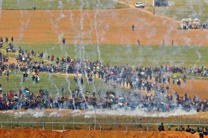اللجنة التنسيقية لمسيرة العودة تعلن تشكيل لجنة لملاحقة الاحتلال
