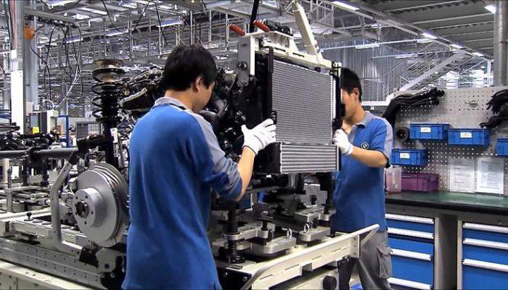 تسارع ملحوظ في نشاط المصانع في الصين خلال اذار/مارس