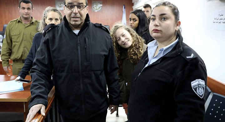 محامية عَهد التّميمي تتهم الشاباك بالتّحرش بموكلتها