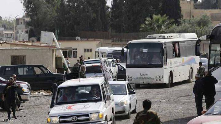 """تركيا تمنع """"مهجري دوما"""" من دخول جرابلس"""