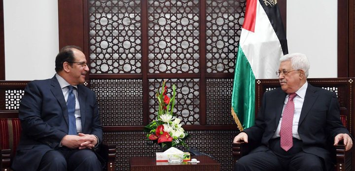 الرئيس يستقبل رئيس جهاز المخابرات المصري