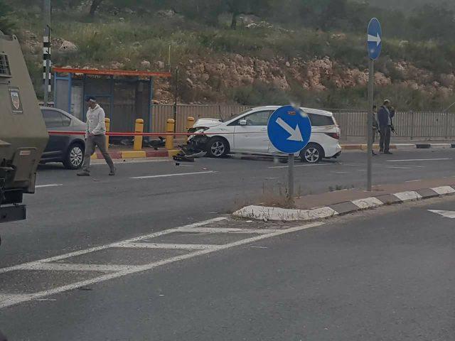 سلفيت: الاحتلال يطلق النار على سائق قرب مستوطنة ارئيل
