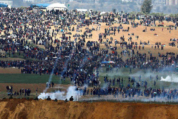 """""""هيومن رايتس ووتش"""": قتل متظاهري غزة عمل مدروس وغير مشروع"""