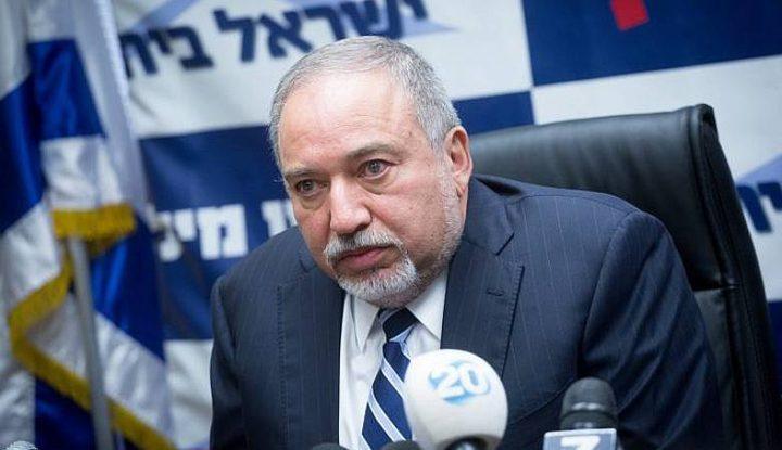 ليبرمان يهدد بارتكاب مجزرة جديدة على حدود قطاع غزة