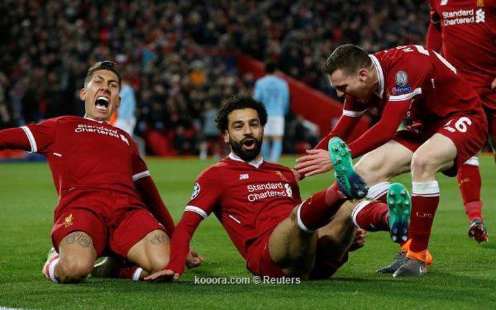 ليفربول يحقق فوزاً كاسحاً على مانشستر سيتي