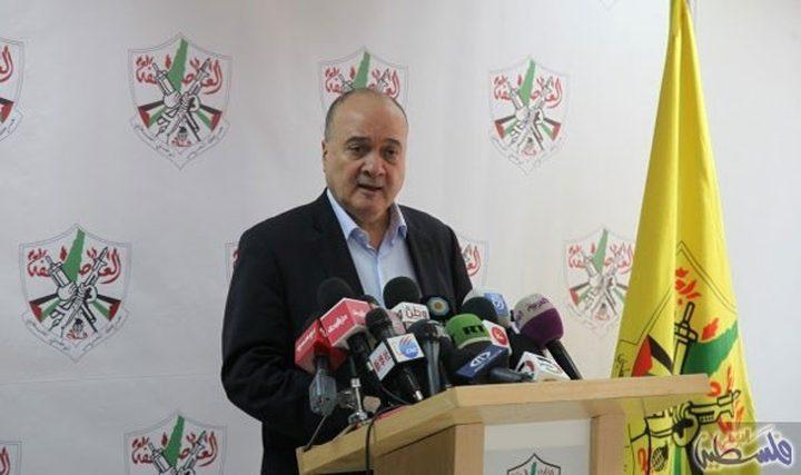 القدوة: التّحرك الفلسطيني على الأرض مركب، وله علاقة بالكثير من العَوامل