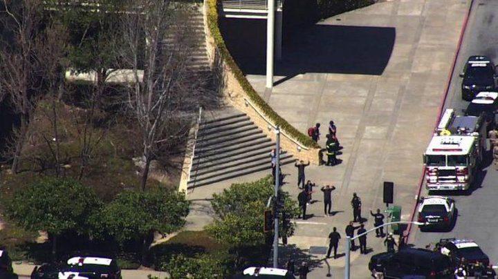 """كاليفورنيا: إصابات جراء إطلاق نار داخل شركة """"يوتيوب"""" ومقتل المنفذة"""