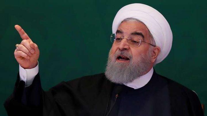 الرئيس الإيراني يتهم الولايات المتحدة واسرائيل بالتدخل في سوريا