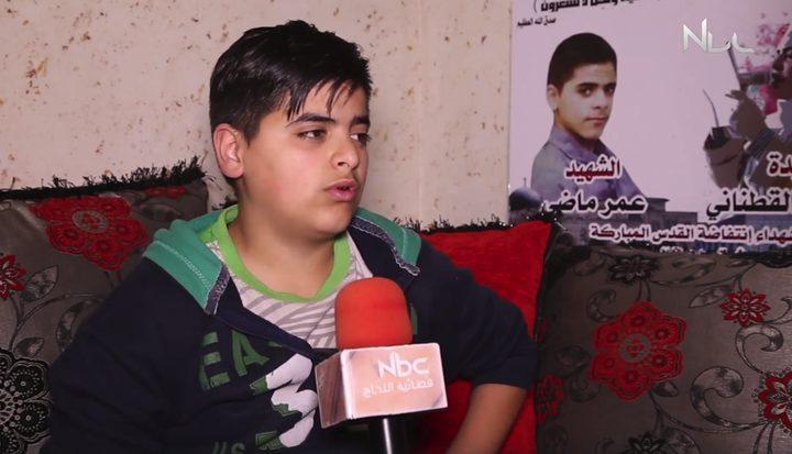 بالفيديو.. قصة اعتقال الطفل محمد ماضي