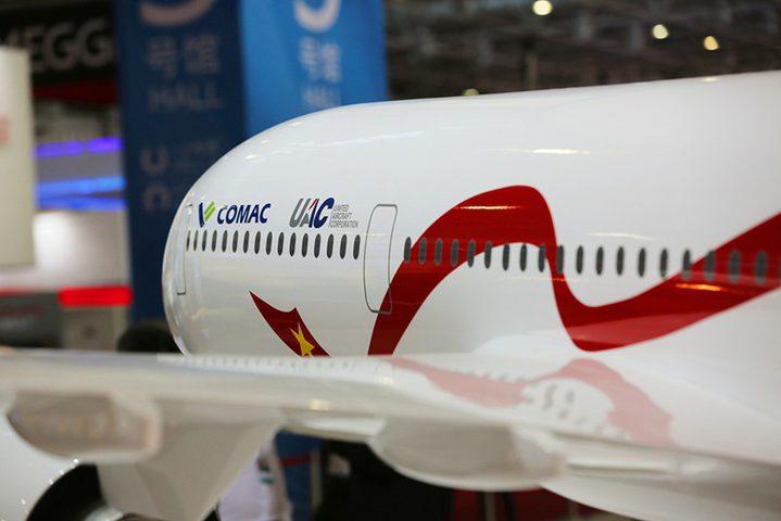 روسيا والصين تصنعان طائرة ركاب ضخمة (فيديو)