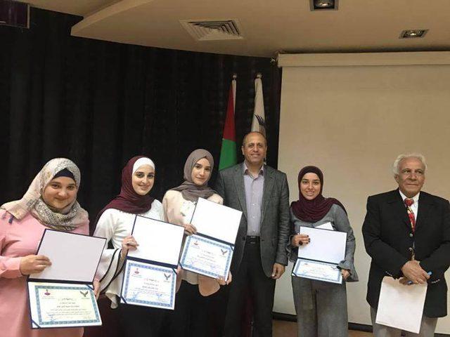 طلبة جامعة النجاح يحققون المراتب الأولى في المؤتمر الإبداعي الطلابي البحثي الأول في جامعة الاستقلال