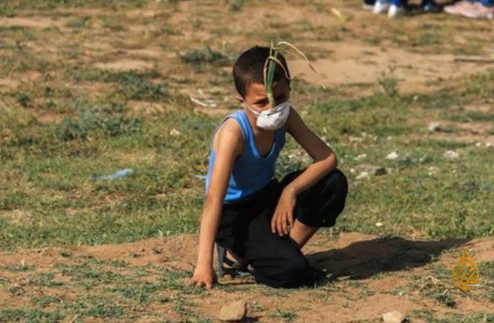 الطّفل الفلسطيني يُعيد تعريفَ الأشياء