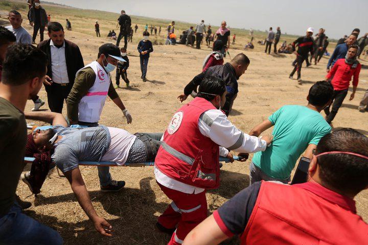 10 شهداء و1345 إصابة برصاص الاحتلال على حدود قطاع غزة
