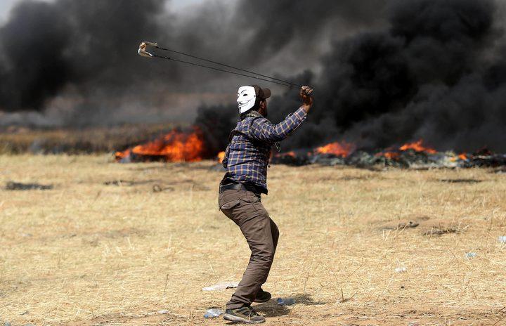 نشطاء إسرائيليون يتظاهرون ضد قمع الجيش لمتظاهري غزة
