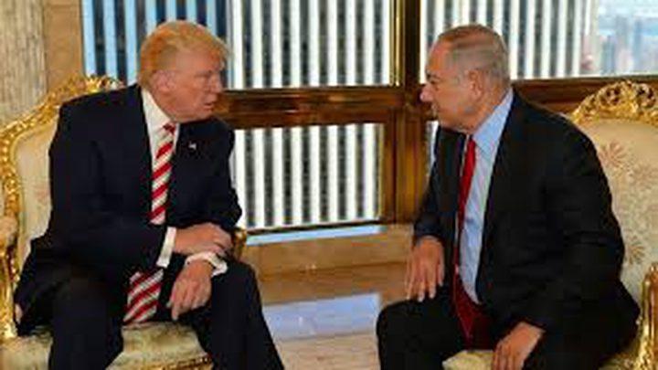 """توتر بين نتنياهو وترامب حول """"الانسحاب الأميركي من سورية"""""""