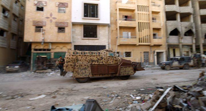 اختطاف عميد بلدية العزيزية غربي ليبيا