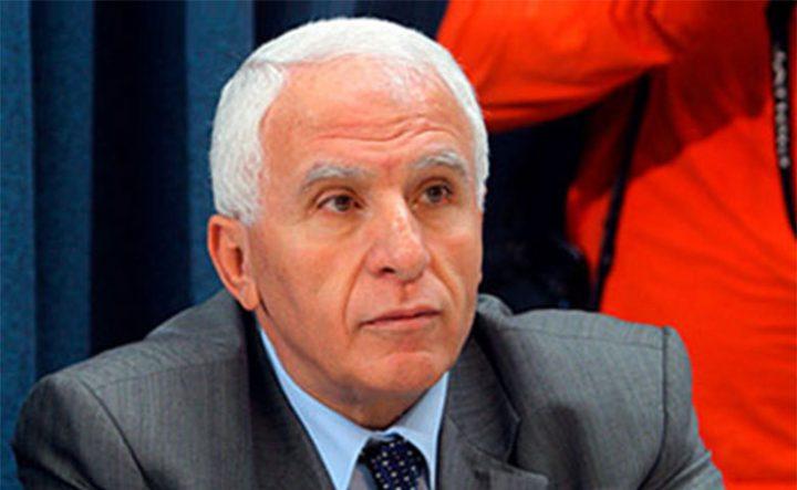 الأحمد: سنحارب من يقف في وجه الوحدة الفلسطينية