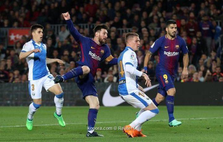 برشلونة يفشل مخطط ليجانيس بسلاح ميسي