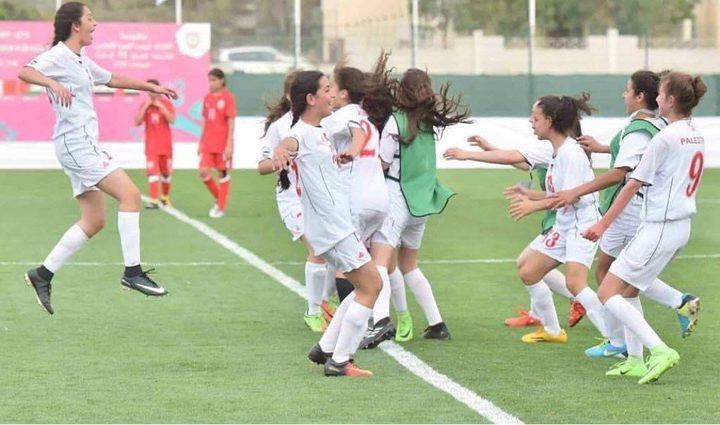 منتخبنا الوطني للفتيات يحقق فوزا مستحقا على نظيره البحريني