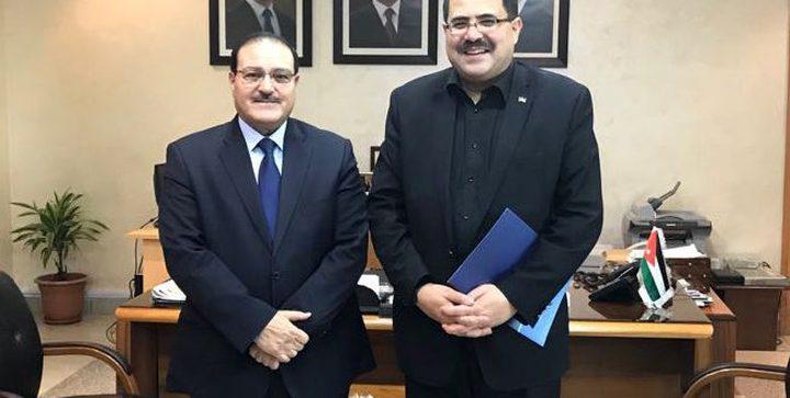 صيدم: لجنة متابعة عليا لتوسيع التعاون بين فلسطين والأردن بمجال التعليم العالي