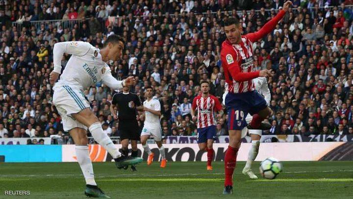 تعادل في قمة مدريد.. وهدف رائع آخر لرونالدو