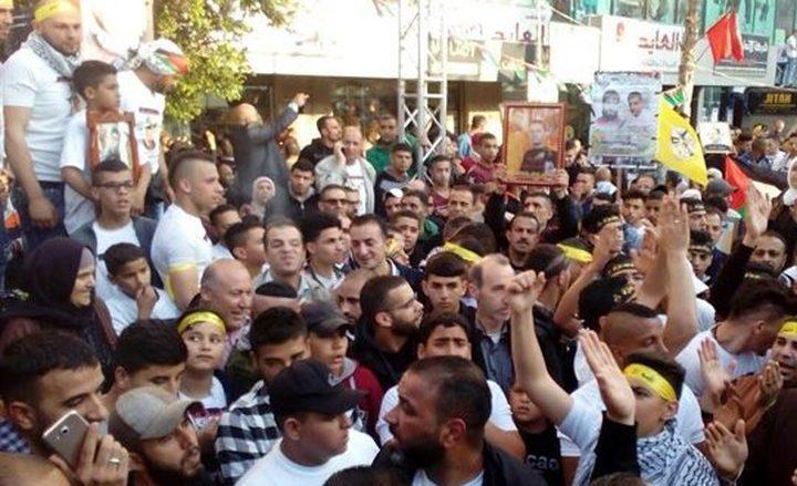 إطلاق فعاليات يوم الأسير الفلسطيني في نابلس