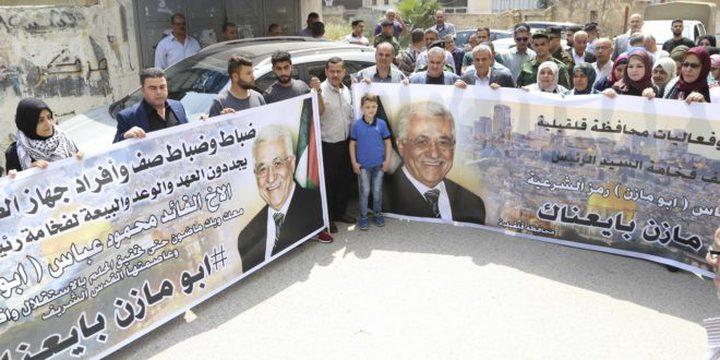 الخليل: مهرجان جماهيري دعماً للرئيس عباس