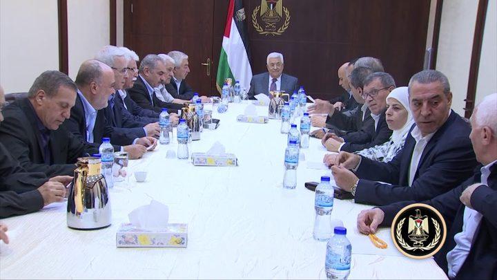 الرئيس: ننتظر الرد المصري بخصوص المصالحة وسنتصرف على ضوء مصلحة الوطن وشعبنا