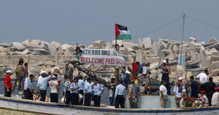 تسيير سفن أوروبية لكسر حصار غزة