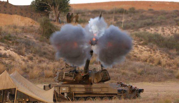 قصف مدفعي إسرائيلي شرق جحر الديك وسط القطاع