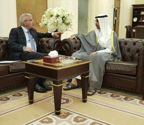 السفير طهبوب يطلع رئيس مجلس الأمة الكويتي على آخر المستجدات