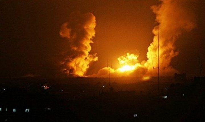 الاحتلال يقصف موقعين شمال غزة دون إصابات