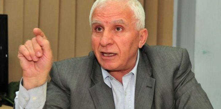 الأحمد: نَستبعد أن تَرد حماس على طلب الرئيس عباس بتمكين الحكومة