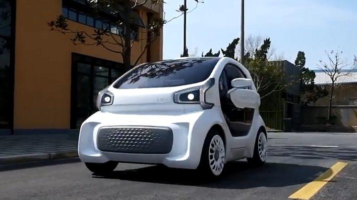 سيارة كهربائية مطبوعة بتقنية 3D!