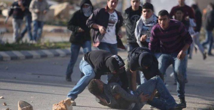إصابة فتى برصاص الاحتلال في مواجهات غرب نابلس