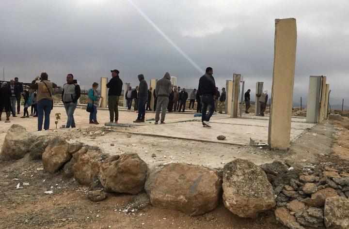 التربية: تدمير مدرسة زنوتا هو نتاج تحريض الاحتلال ضد التعليم